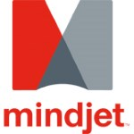 Mindjet Logo vertical with text